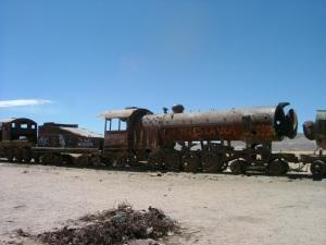 Train Graveyard, Salar de Uyuni, Bolivia