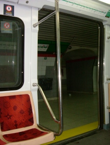 Open Subway Doors