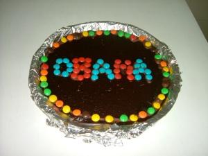Obama Brownie