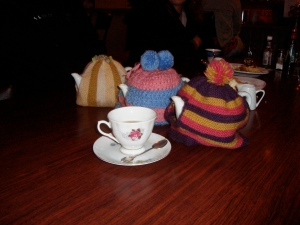 Because even teapots need help staying warm